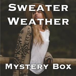 Sweaters - Mystery Box 📦 Sweater Weather (4 items) S